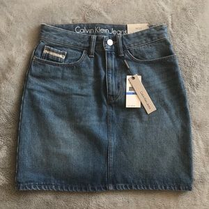 Calvin Klein Jeans Denim Skirt